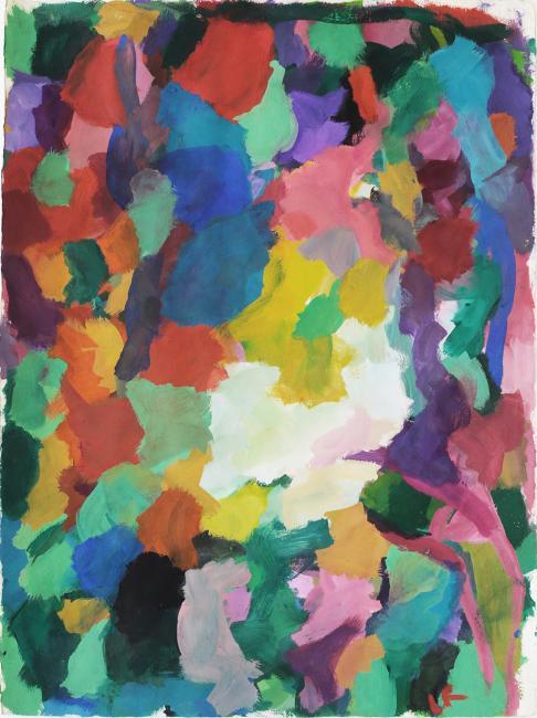 Sans titre gouache sur papier, 76 x 56 cm 2016