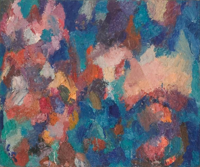 Motif, huile sur toile, 46 x 55 cm 2003 - 2005