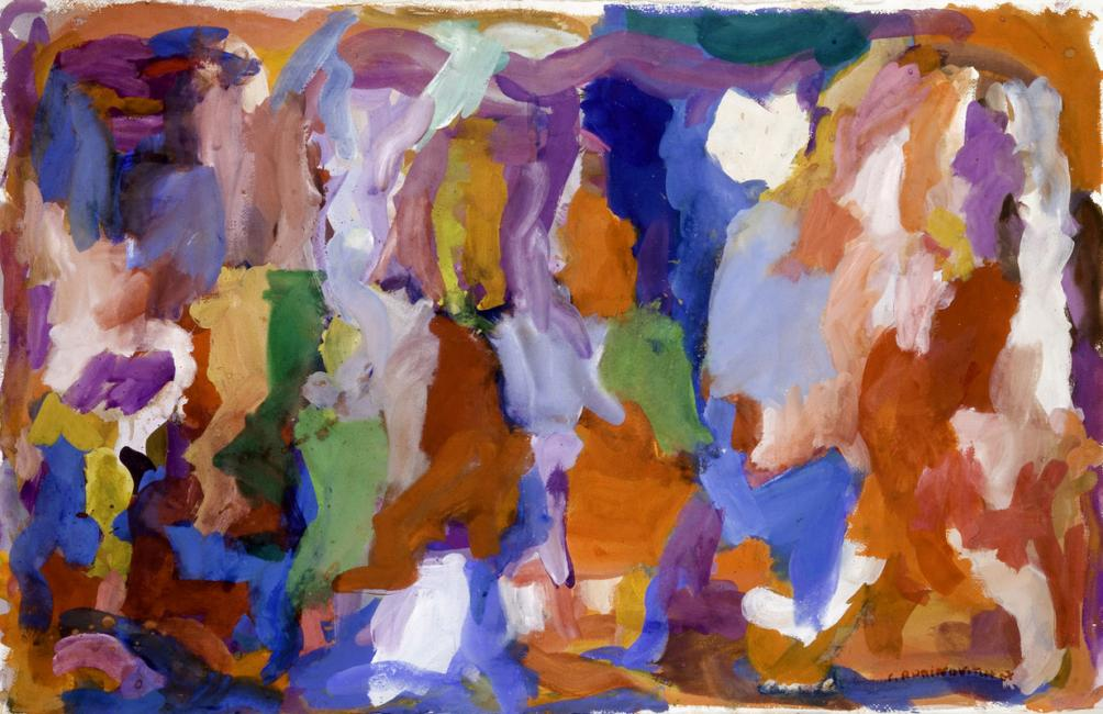 Laredo, gouache sur papier, 65 x 102 cm 2009