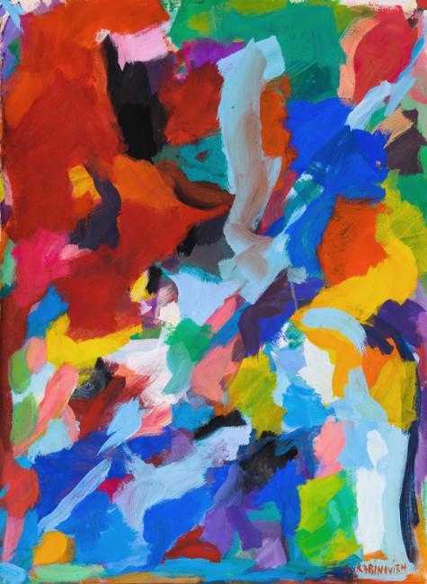 Laredo, gouache sur papier, 75 x 56 cm 2009