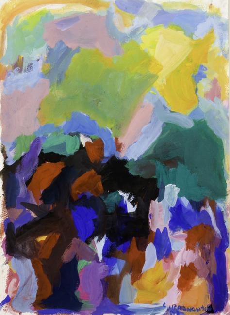 Laredo, gouache sur papier, 55 x 40 cm 2009