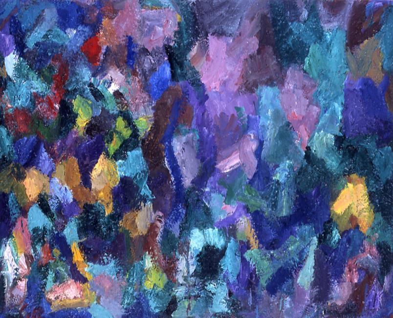 Motif, huile sur toile, 65 x 81 cm 2003 - 2005